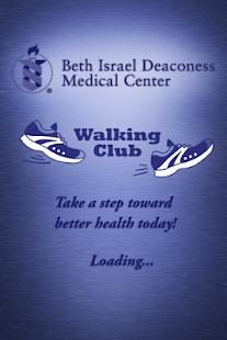 BIDMC WALKING CLUB PEDOMETER - screenshot thumbnail