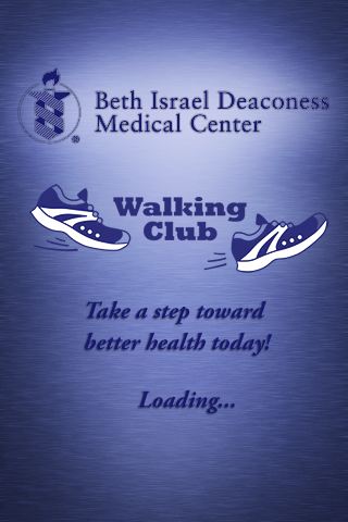 BIDMC WALKING CLUB PEDOMETER - screenshot