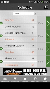 Boys' Basketball Scoreboard- screenshot thumbnail