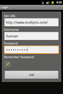 EvolSync- screenshot thumbnail