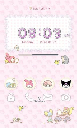 My Melody GO Locker Theme V.3
