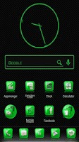 Screenshot of Slick Launcher Theme Green