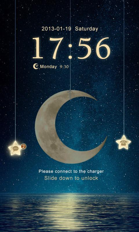 (FREE)NIGHT MOON GO BIG THEME- screenshot