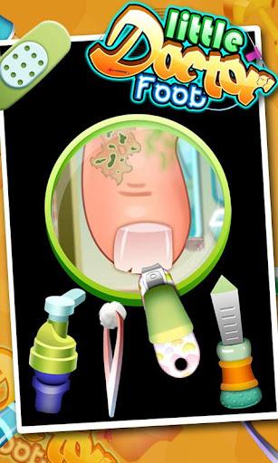 Little Foot Doctor- kids games screenshot