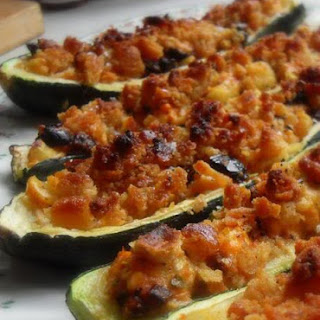 Stuffed Courgette Vegetarian Recipes.
