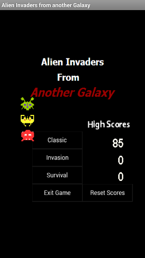 Alien Invaders another Galaxy