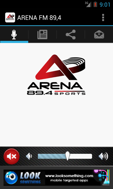 ARENA FM 89,4 - screenshot