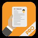 Super Resume Builder Pro, CV icon