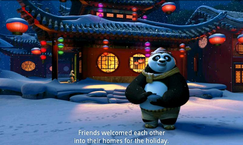 Kung Fu Panda Holiday- screenshot