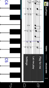 Act Piano:notation,midi,score - screenshot thumbnail