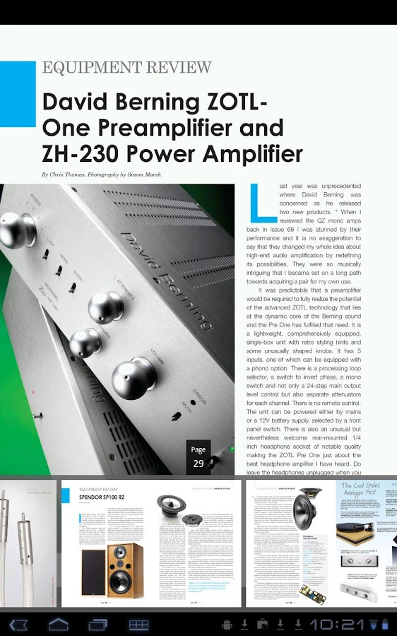 Hi-Fi Plus Magazine - screenshot
