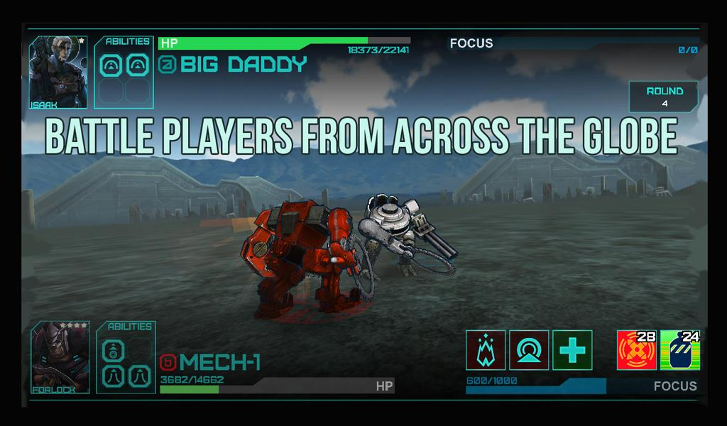Mech Conquest- screenshot