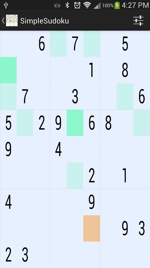 SimpleSudoku 8