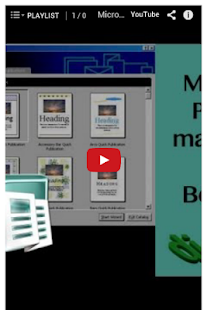 玩免費教育APP|下載Microsoft Publisher Tutorial app不用錢|硬是要APP