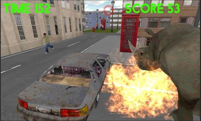 Rhino Simulator - screenshot