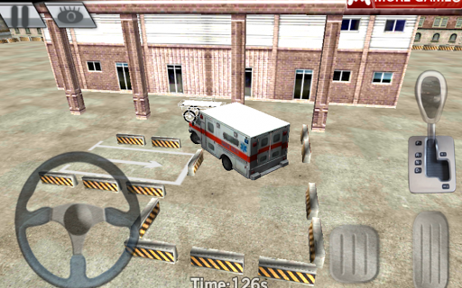 City parking 3D - Ambulance
