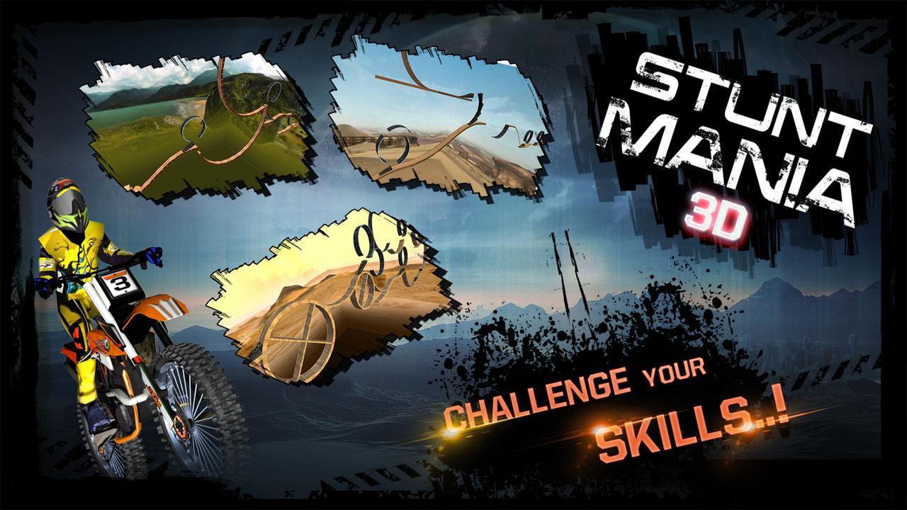 Stunt Mania Game Stunt Mania 3d Screenshot