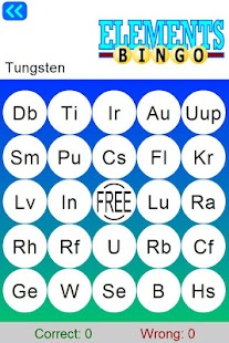 Learn periodic table bingo android apps on google play learn periodic table bingo screenshot thumbnail urtaz Images