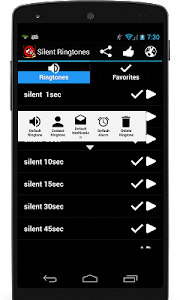 Silent Ringtones screenshot 3