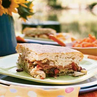 Antipasto Chicken Sandwich.