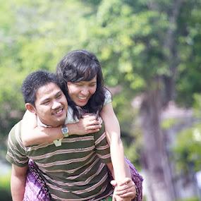 pre wedding eka & candra by Benaya Agung - People Couples ( happy, pre wedding, couple )