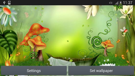 7 Fairy Tale Live Wallpaper App screenshot
