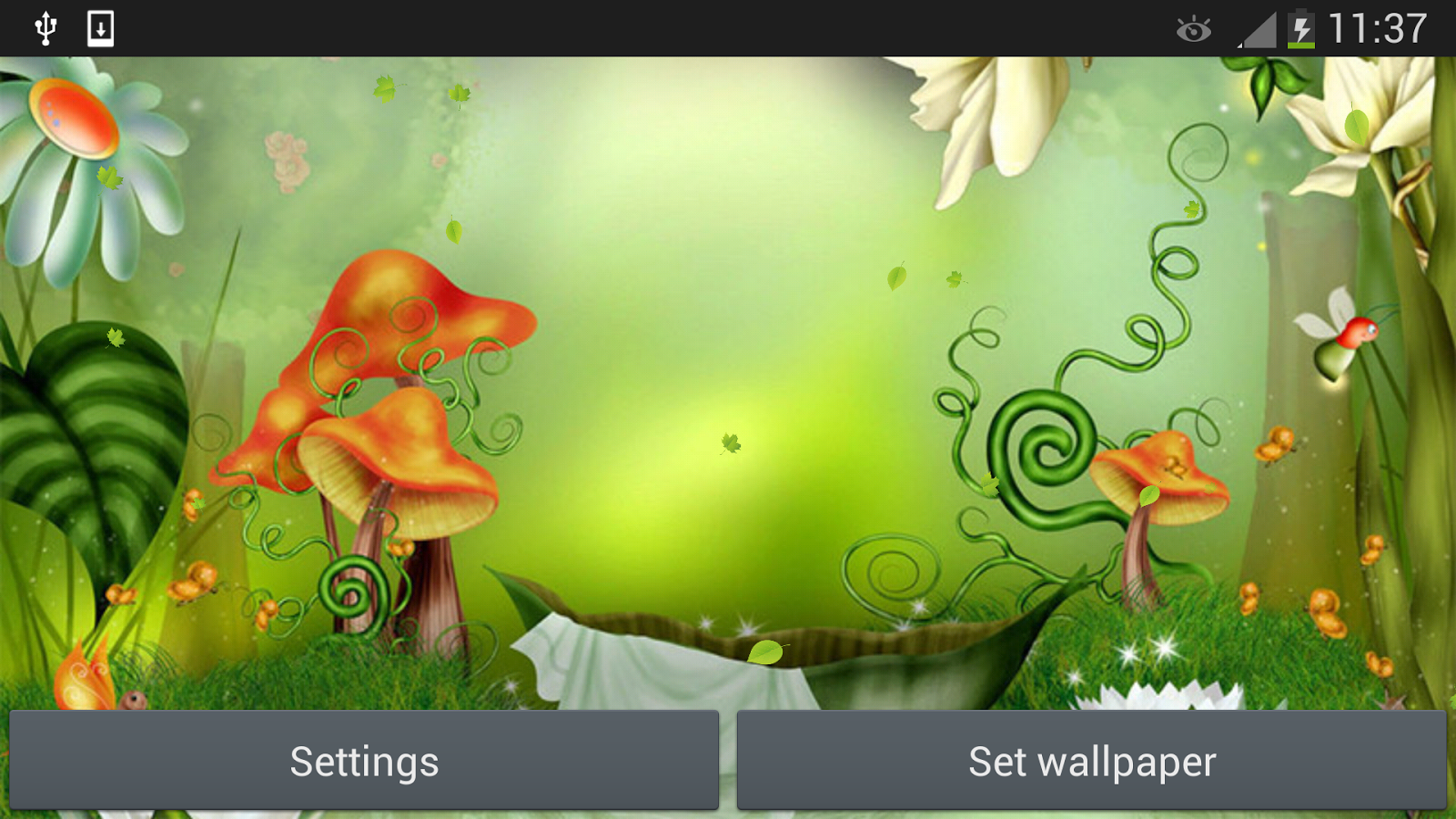 Fairy Tale Live Wallpaper - screenshot