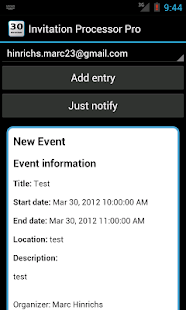 Invitation Processor- screenshot thumbnail