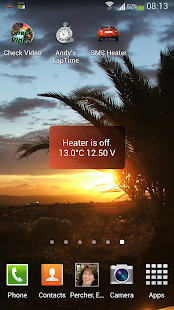 Car Heater SMS- screenshot thumbnail