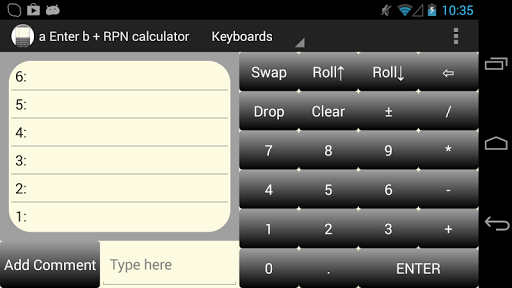 【免費工具App】a Enter b RPN Calculator-APP點子