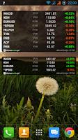 Screenshot of Notowania giełdowe BiznesRadar
