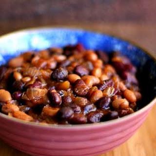 Three-Bean Baked Beans.
