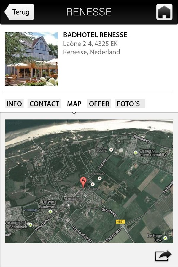 Renesse+ - screenshot