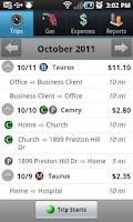 Screenshot of TripLog - GPS Mileage Tracker