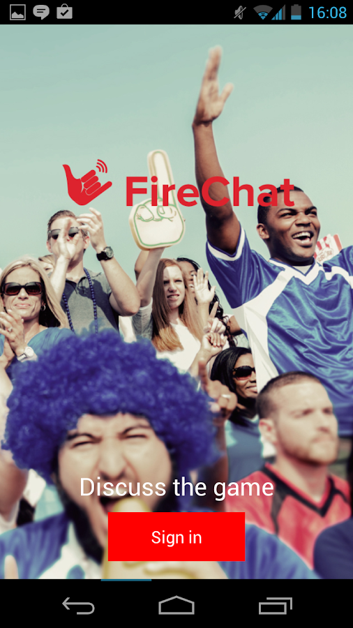 FireChat - screenshot