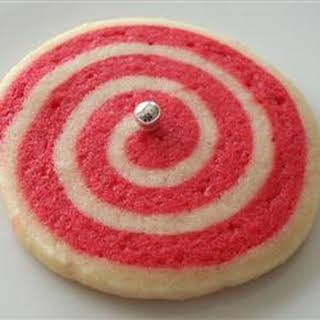 Christmas Pinwheel Cookies.