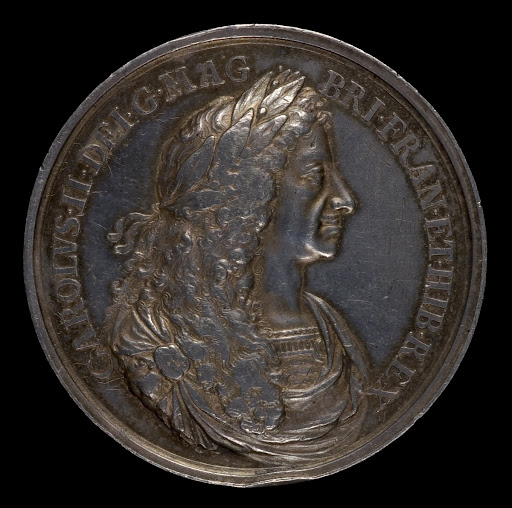 Charles II, 1630-1685, King of England 1660 [obverse]