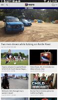 Screenshot of WAFB Local News