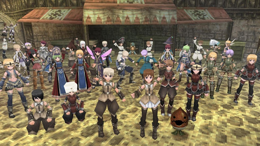 RPG IRUNA Online MMORPG game (apk) free download for Android/PC/Windows screenshot
