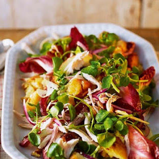 Turkey And Crispy Potato Winter Salad