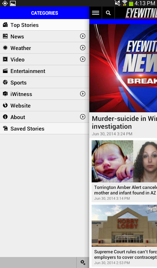 WFSB- screenshot
