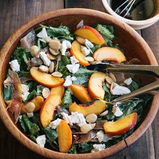 Peach and Prosciutto Salad.