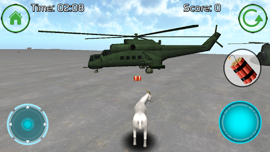 Goat Gone Wild 3D