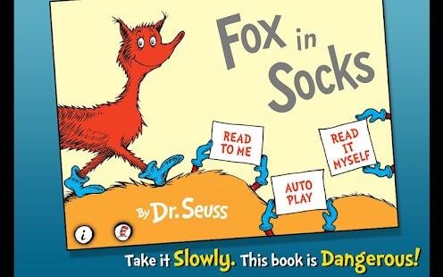 免費書籍App|Fox in Socks - Dr. Seuss|阿達玩APP