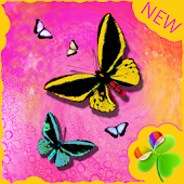 GO Launcher EX Theme Butterfly