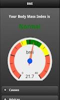 Screenshot of BMI Calculator Free