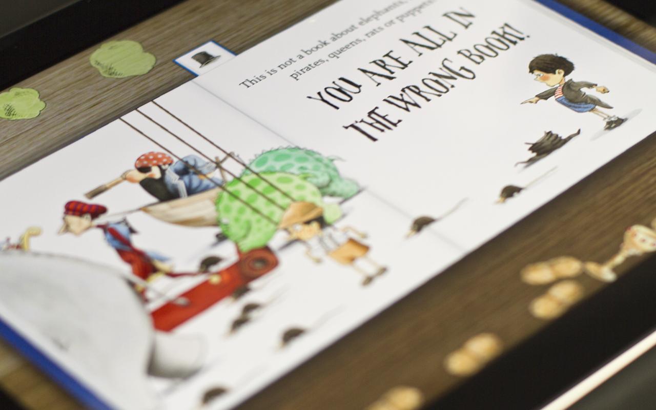 The Wrong Book- screenshot