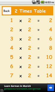 Times Tables- screenshot thumbnail