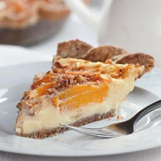 Peach Custard Pie.