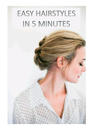 Easy Hairstyles In 5 Mins FREE